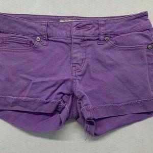 Aeropostale Women's Size 00 Purple Stretch